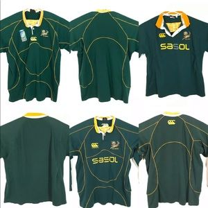 South Africa 2007 Rugby Union Shirt Loy Of 3